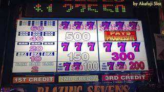 PART 1•BIG WIN•Blazing 7s $1 Slot Machine - Max Bet $3 [カルフォルニア] [カジノ] [勝利スロット] [女子スロット] [赤富士スロット]