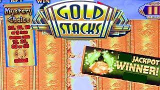 24k GOLD STACKS  •  SLOT MACHINE LIVE PLAY AND BONUSES • BIG WINS • LIVE CASINO ACTION
