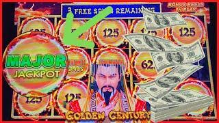 ★ Slots ★Dragon Link Golden Century MAJOR JACKPOT HANDPAY ★ Slots ★(3) BONUS ROUNDS Nice Session Slo