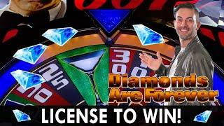 ★ Slots ★ LICENSE TO WIN ★ Slots ★ 007 Diamonds Are Forever BONUS ★ Slots ★ CRAZY Cash Wizard World