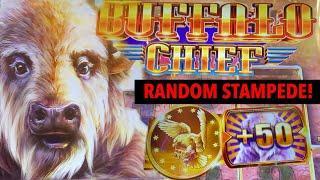 WHHAAAAT??? RANDOM STAMPEDE OF BUFFALOS??? BUFFALO CHIEF ⋆ Slots ⋆ ⋆ Slots ⋆ NEW BUFFALO SLOT MACHIN