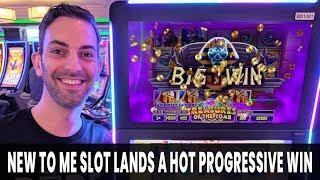 • HOT Progressive JACKPOT WIN • NEW Slot Machine Treasures of the Tomb #AD