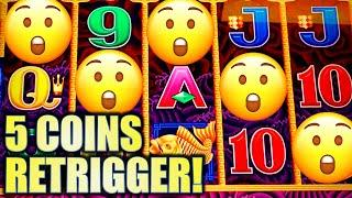 •WINNING AT THE LOCAL!• 5-COINS ON 5 DRAGONS! • Slot Machine Bonus Win