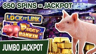 ⋆ Slots ⋆ Jackpot AND Mini Boom on Piggy Bankin'? ⋆ Slots ⋆ You Know It! $50 Slot Spins at Hard Rock Hollywood, FL