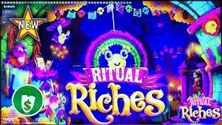 •️ New - Ritual Riches Class II slot machine, bonus