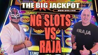 NG SLOTS VS RAJA •LIGHTNING LINK CHALLENGE +  BONUS ROUND JACKPOT!