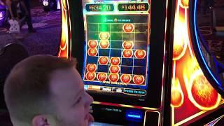 Ultimate Fire Link - Jackpot on Fireball Lock Feature on Brian of Denver Slots