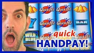 Quick Hit?  Quick HAND PAY! •$10-$27/Spin High Limit Slot Machines• Brian Christopher Slots