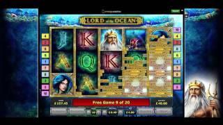 Lord of the Ocean Slot - £4 stake - late saving bonus round!