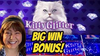 All Glitter & No Litter! Big Win Bonuses Kitty Glitter and Diamond Trails