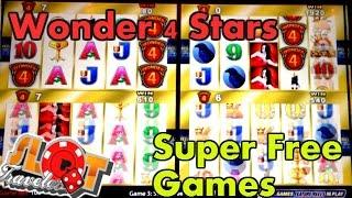**SUPER FREE GAMES ** WONDER 4 STARS - WICKED WINNINGS 2 | SlotTraveler