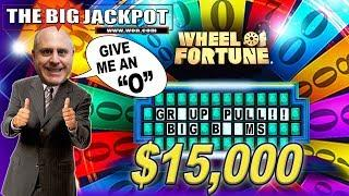 •$15,000 PATREON GROUP PULL on WHEEL of FORTUNE! •BIG WIN$