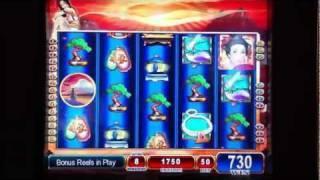 Silk Kimono Slot 12 Free Spin Bonus Game (Second Game on $.50 Bet)