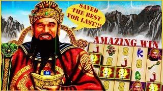 Fortune Ruler Slot - Amazing Big Win almost a Handpay , last spin win at San Manuel Casino