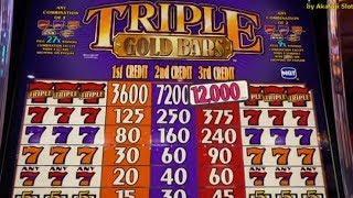Viewers requested - Triple Gold Bars $1 Slot & •Jackpot Live - Blazin Gems•@Pechanga Resort Casino