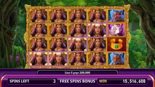 TIGER TEMPTRESS Video Slot Casino Game with a TIGER TRAILS FREE SPIN BONUS