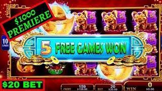 High Limit Fortune Stacks Slot $20 Bet Bonus | Buffalo Gold & Miss Kitty Gold Slots SUPER FREE GAMES