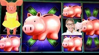 Piggies finally show up• Major chasing on Autumn Moon Free spins•