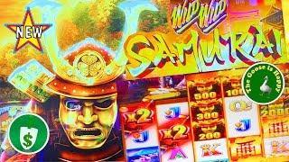•️ New • Wild Wild Samurai slot machine, Bonus, Big Win •