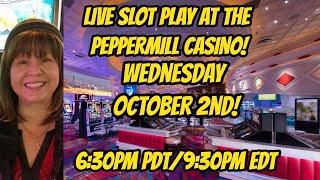Live Casino Slot play in Reno October 2nd