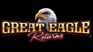 WMS Great Eagle Returns - BONUS WIN - LAST SPIN