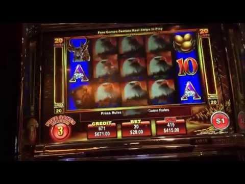 Eagle bucks HANDPAY JACKPOT $20 bet high limit slots