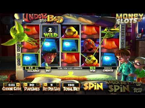 Under the Bed Video Slots Review | MoneySlots.net