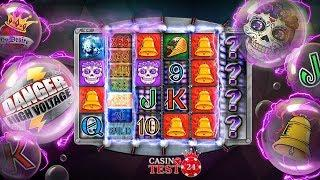 BIG WIN ON DANGER! HIGH VOLTAGE SLOT (BTG) - 5€ BET!