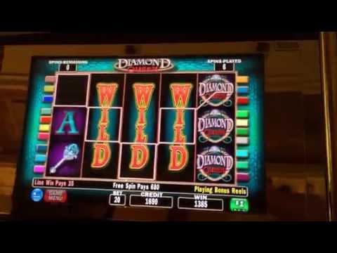 Diamond queen HANDPAY JACKPOT  high limit bonus win