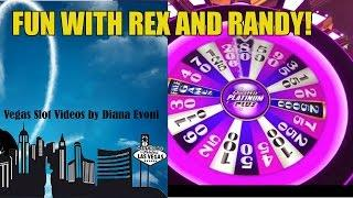 PLATINUM PLUS QUICK HIT WHEEL SLOT MACHINE-BONUSES!