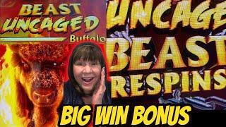 Big Win! I Uncaged the Beast! New Game Beast Uncaged Buffalo