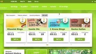 Danske Spil Bingo anmeldelse: Bonuskode = Bingo + jackpot