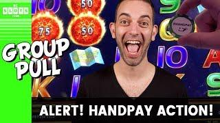 • $8000 In •️ Handpay • Group Pull @ Cosmo Las Vegas • BCSlots