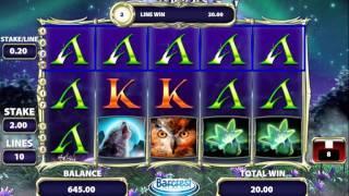Barcrest Moon Shadow Video Slot Free Spins Bonus