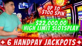 $22,000.00 On High Limit Slots & ⋆ Slots ⋆6 HANDPAY JACKPOTS⋆ Slots ⋆! Huge Slot Play In Las Vegas &