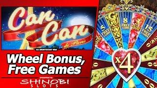 Can Can De Paris Slot - Free Online Aristocrat Slots Game