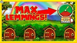 Going for MAX FREE SPINS on Lucky Lemmings!! + Hercules Premium Play