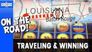 •️ Brian GAMBLES on WRONG CITY in Louisiana! • WINNING on Triple • Double • Stars • • BCSlots