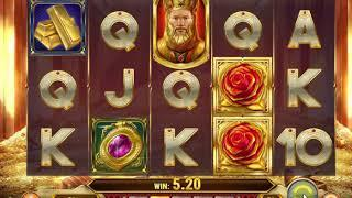 Gold King new slot from Play'n Go - dunover tests!