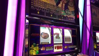 """LIVE HANDPAY"" VGT Slots Mr. Money Bags $100 Spin Choctaw Gaming Casino, Durant, OK."