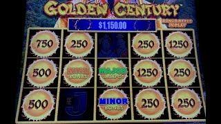 DRAGON LINK •GOLDEN CENTURY MAJOR JACKPOT (2) HANDPAYS •SLOT MACHINE •MOHEGAN SUN