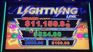 LIGHTNING LINK!  LIGHTNING LINK!  LIGHTNING LINK!!  ~  Live Slot Play @ San Manuel