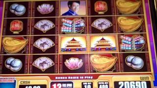 China Moon Spinning Streak Bonus Max Bet Big WIN