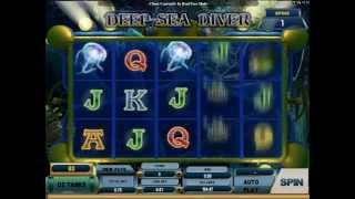 Deep Sea Diver Slot (Microgaming) - Wreck Dive Feature with 10 Wilds