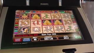 BIG WIN $10 Bet cleopatra 2 Group Pull Free spins bonus IGT slot machine