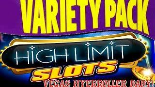 ¡HIGH LIMIT BABY! VARIETY PACK | DOLLAR SLOT MACHINE BONUS