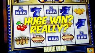 Quick Hits Wild Blue slot - 20 free games MAX bet bonus win - Slot Machine Bonus