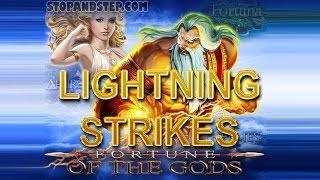 Fortune of the Gods with LIGHTNING STRIKE BONUS