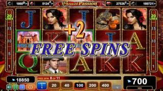 Spanish Passion slot - 2,350 win!