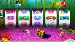 GOLD FISH 2 Video Slot Casino Game with a BLUE FISH BONUS